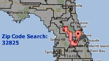 ZIP code search congress map